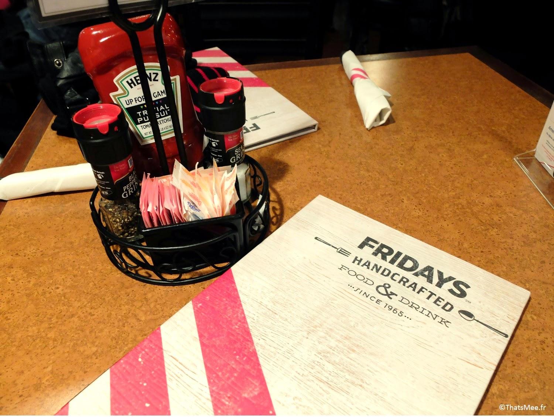 TGI Fridays resto américain US