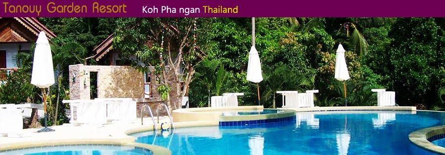 Tanouy Garden Resort koh phangan hotels