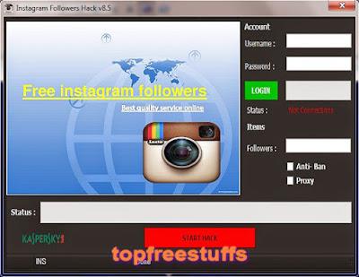 Instagram Followers Hack v8.5