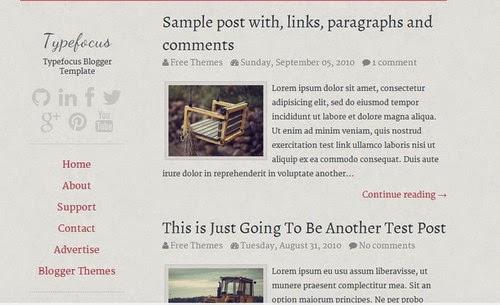 Blogger Templates Grátis