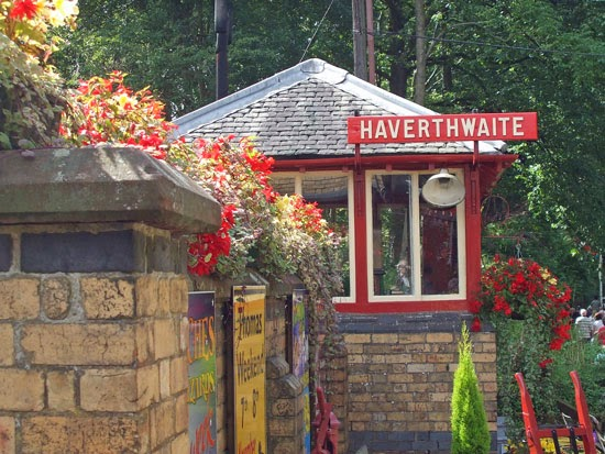 Heritage railway station, visit Lake District