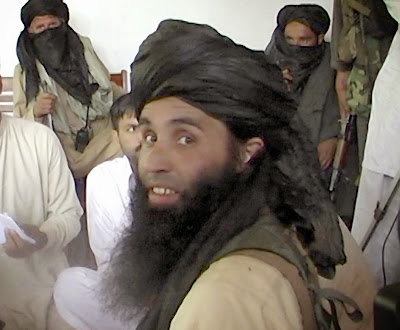 Maulana Fazlullah, newly appointed chief of Tehreek-e-Taliban Pakistan (TTP), speaking with local journalists in the Pakistan's northwestern Swat valley. The Pakistani Taliban on November 7, 2013, have elected Maulana Fazlullah as their new chief following the death of the previous leader in a US drone strike. Fazlullah led the Taliban's brutal two-year rule in Pakistan's northwest valley of Swat in 2007-2009 before a military operation retook the area.