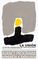 LVI FESTIVAL INTERNACIONAL CANTE DE LAS MINAS LA UNIÓN - DEL 3 AL 13 AGOSTO 2016