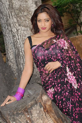 uday bhanu in saree tv anchor hot photoshoot