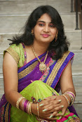 Krishnaveni glam in half saree-thumbnail-12