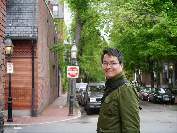 Exploring Back Bay, Boston