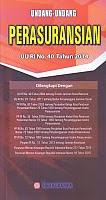 toko buku rahma: buku UNDANG-UNDANG PERASURANSIAN UU RI NO. 40 TAHUN 2014, penerbit sinar grafika