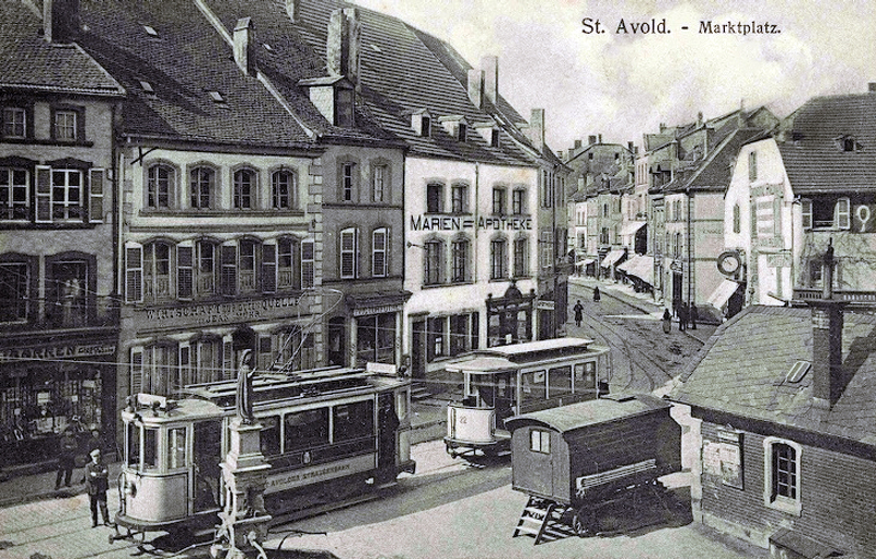 Saint-Avold France  city photos : transpress nz: vehicles in Saint Avold, France, late 1930s