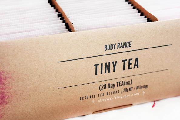 Get Healthy Challenge: Tiny Tea Teatox 28 Days