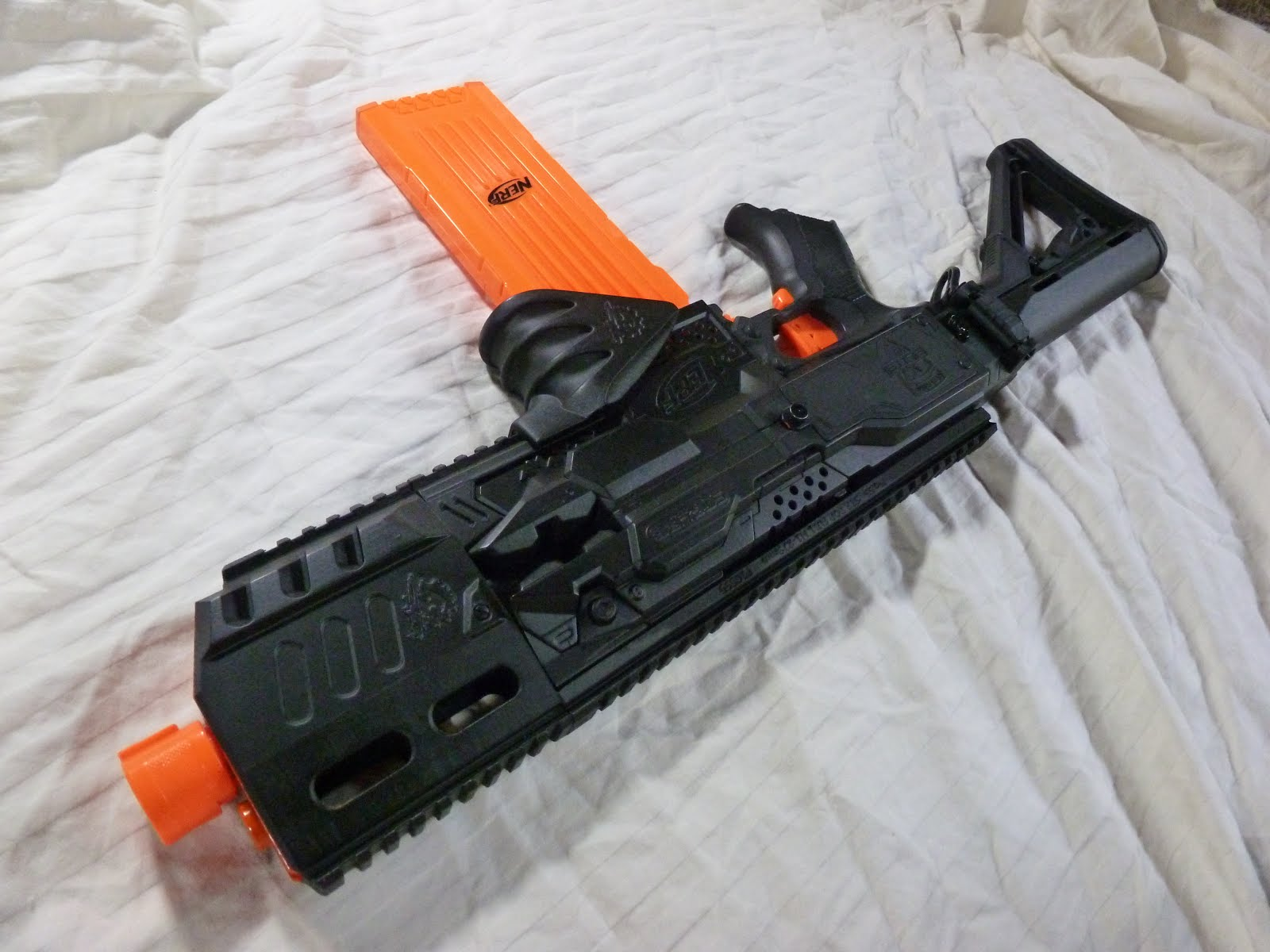 Apex Tactical Solutions Nerf Mod Stryfe Assault Rifle