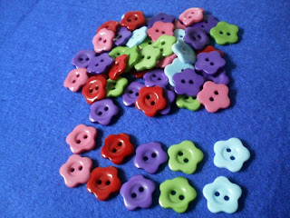 Flower Button 14mm