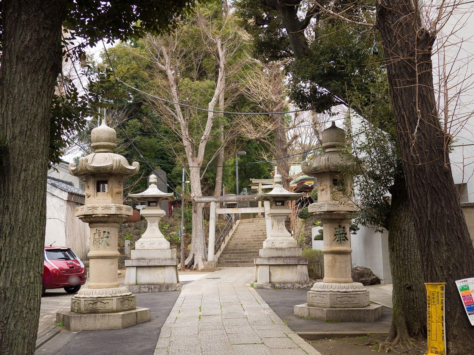 東中野 氷川神社