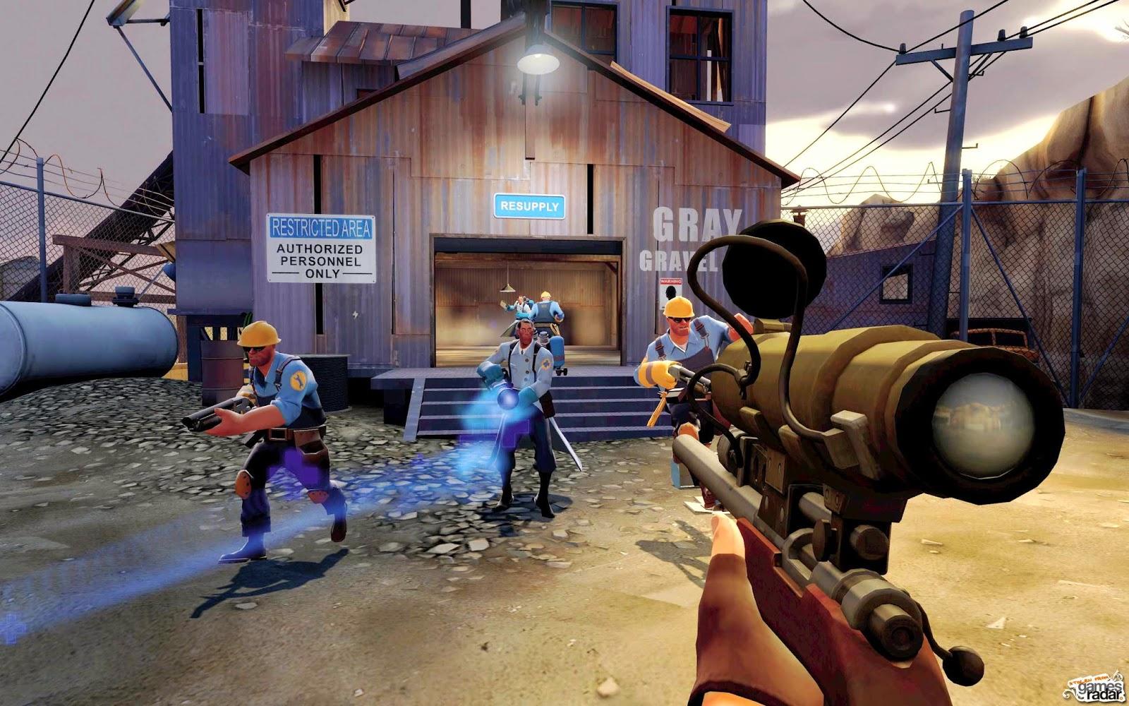 Team Fortress 2, modo de juego Rey de la Colina