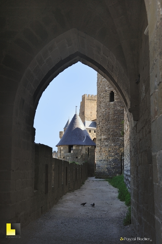 Le grand tour des remparts de Carcassonne par les lices photo pascal Blachier