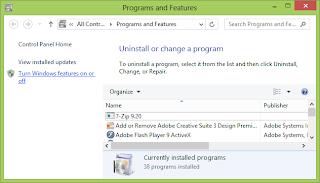 Cara Install IIS pada Windows 8