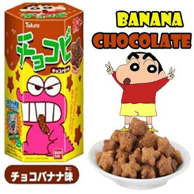 Shin-Chan sangat suka makan Chocobi