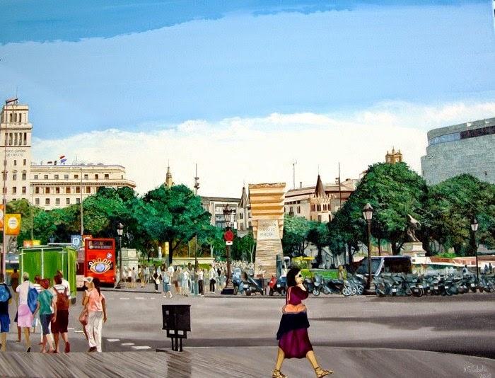 Современный испанский художник. Antonio Sanchez Cabello