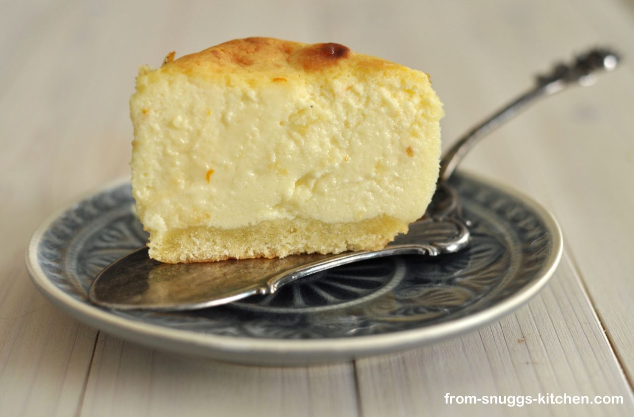 New York Cheesecake, Anschnitt