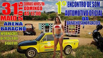 1° Encontro de Som Automotivo Oficial da Baracho Sonorizações