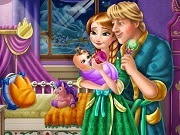 Frozen Anna and Kristoff Baby Feeding