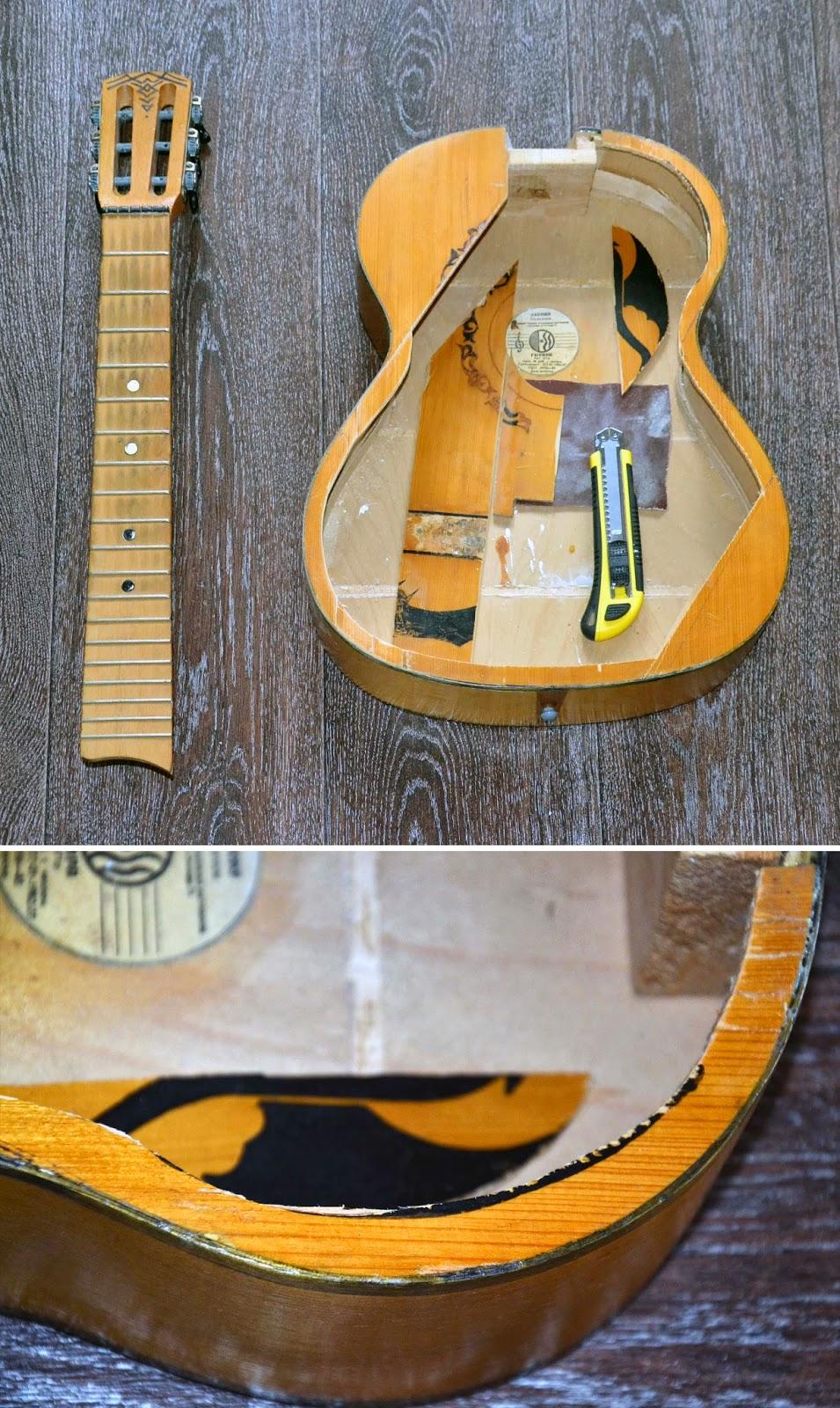 Полка из гитары