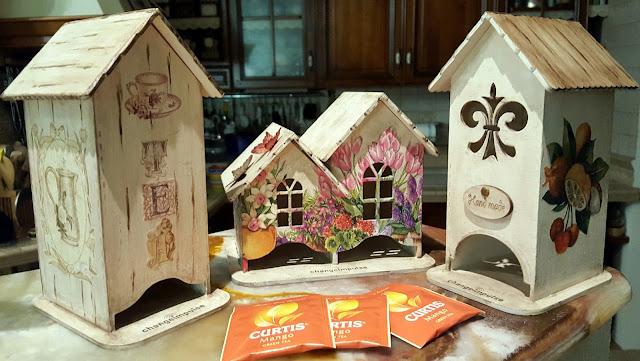 Красивый чайный домик своими руками 91