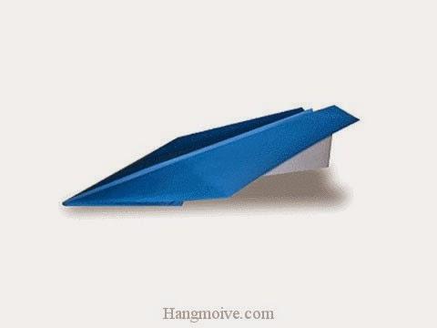 Cách gấp, xếp máy bằng giấy origami phi xa, cao, lâu, bay mãi không rơi - Video hướng dẫn xếp hình máy bay kiểu 1 - How to fold a Paper Plane