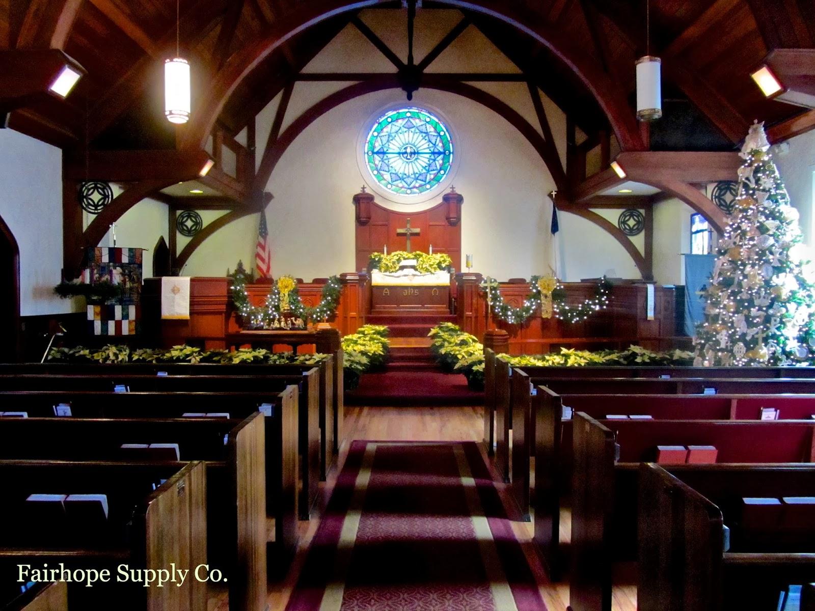 Fairhope United Methodist Church Church Christmas
