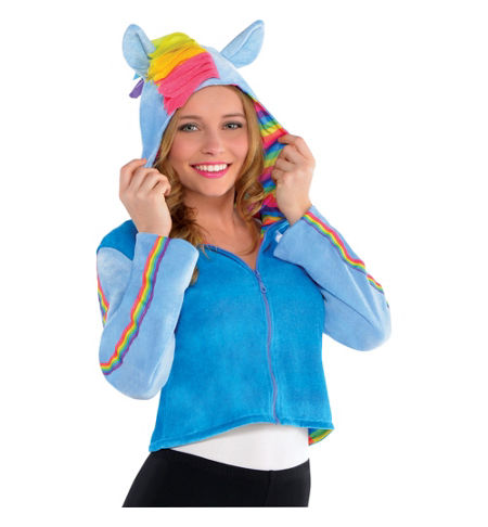 MLP Rainbow Dash Child Costume Hoodie