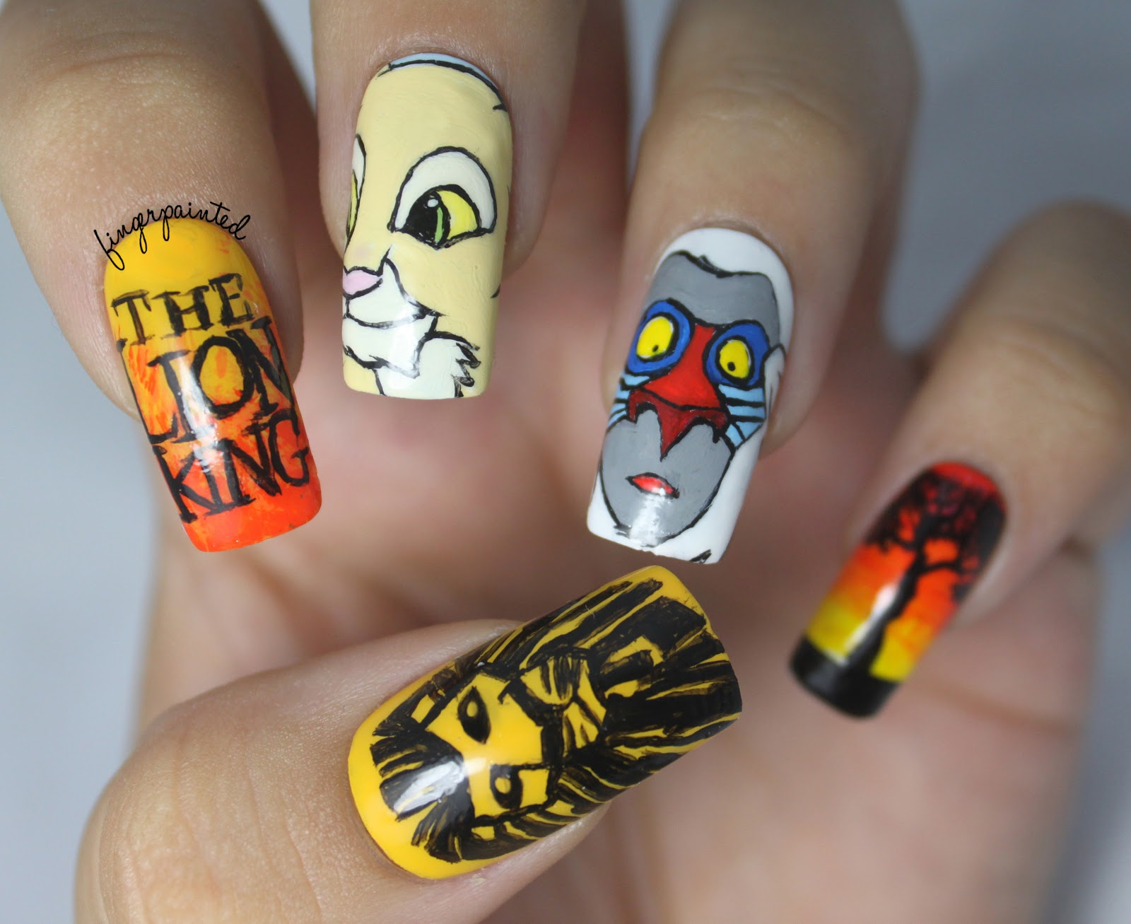 Nailed to the T: Disney Nail Art Contest & Blog Anniversary Winners!!!