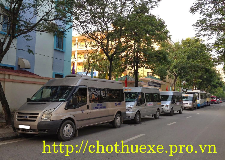 Dịch vụ cho thuê xe đưa đón học sinh, xe mới giá rẻ tại Hà Nội