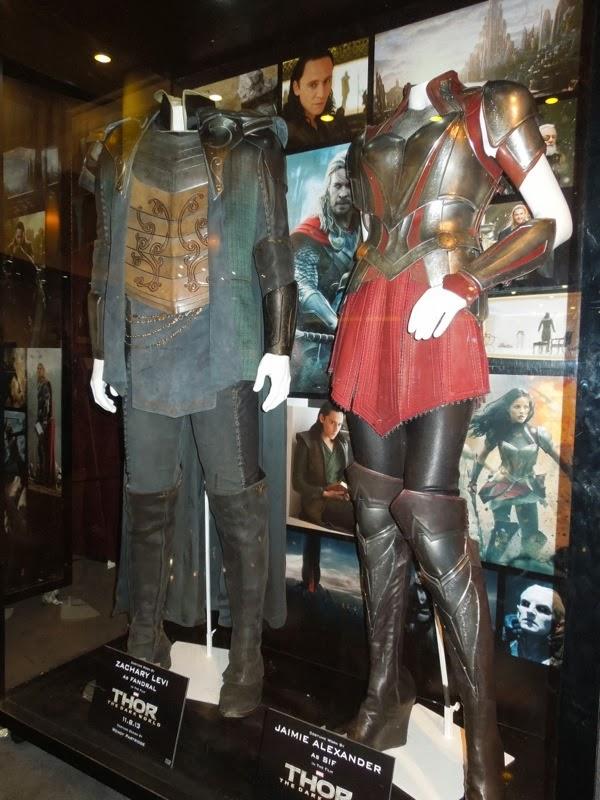 Thor Dark World Fandral Sif movie costumes