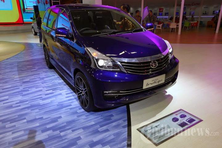 New Daihatsu Xenia Indigo 2014 Tampil Di Surabaya