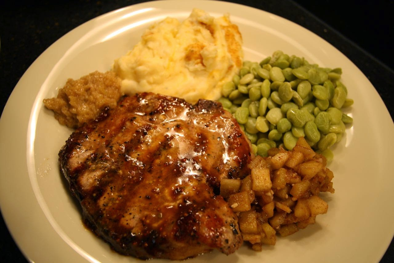 The Roediger House: Meal No. 1172: Molasses-Mustard Glazed ...