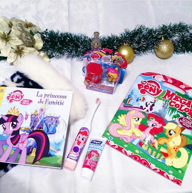 Un bas de Noël My Little Pony pour offrir la santé.