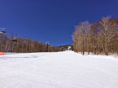 Chuck and Lori's Travel Blog - Ski Lift at Killington, VT