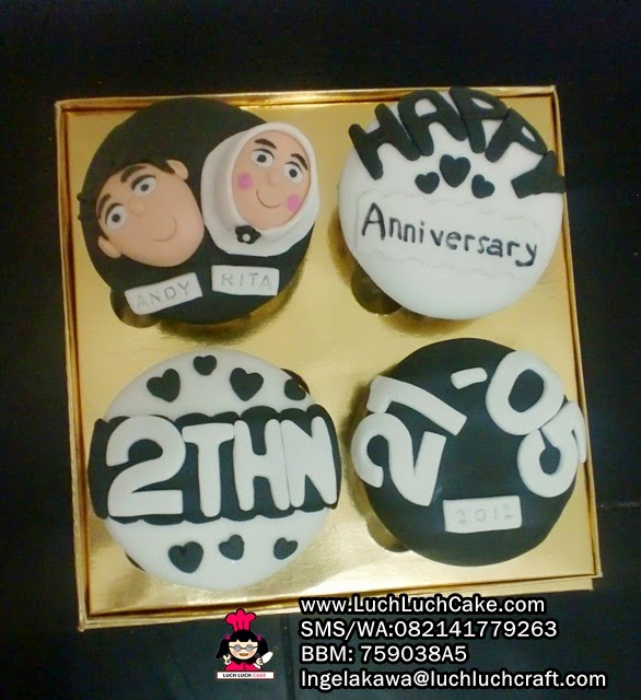 Anniversary Cupcake Daerah Surabaya - Sidoarjo