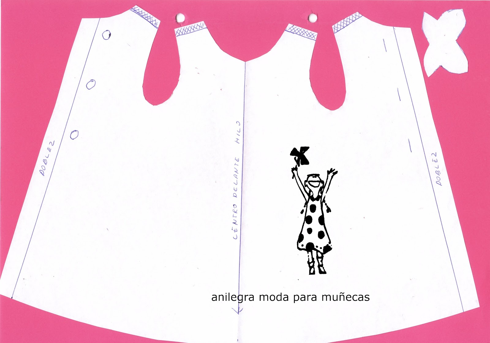 ANILEGRA COSE PARA NANCY: Tutorial vestido NANCY modelo PAULA ...