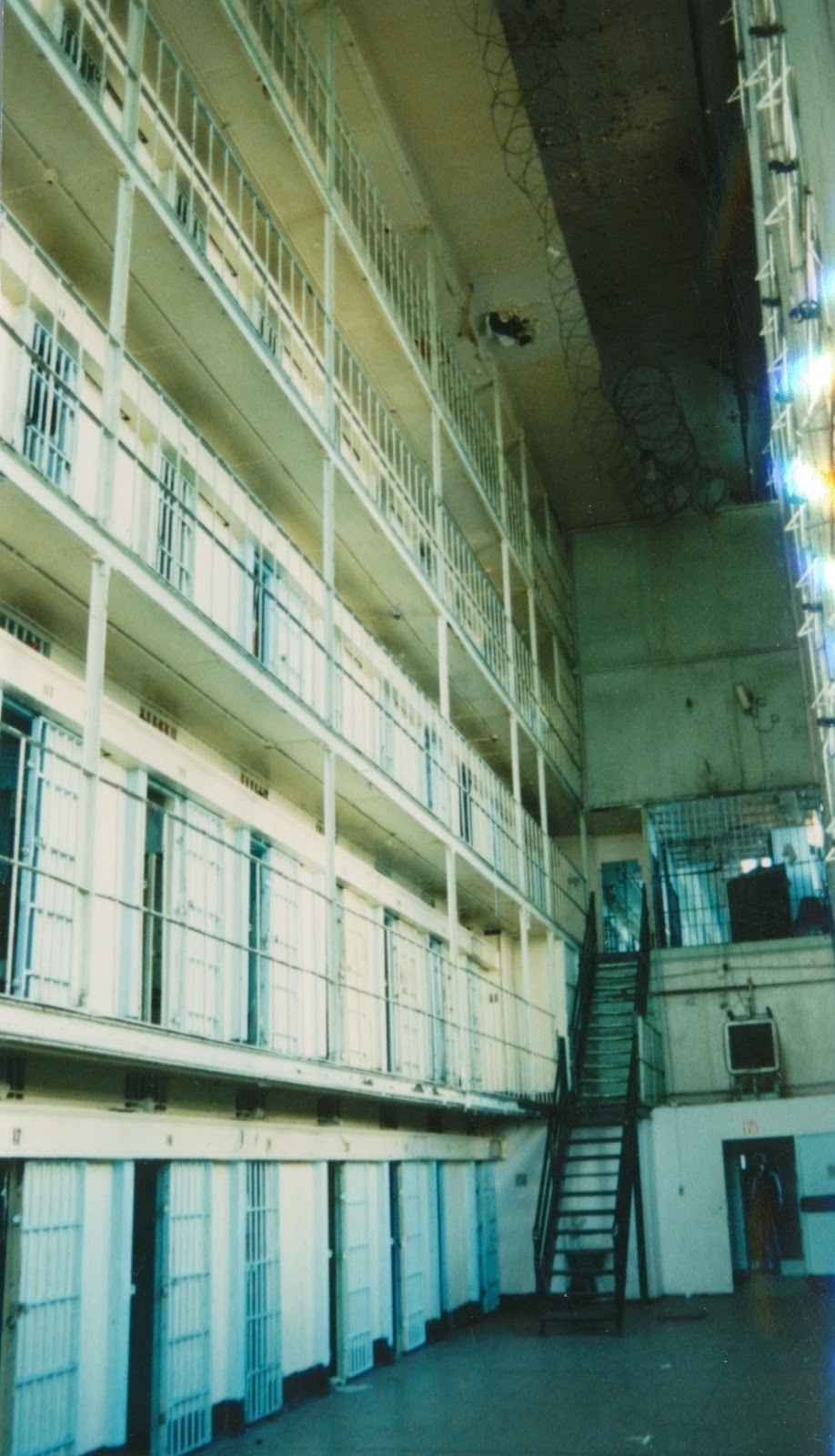 Although Cold And Quiet In This Photograph, This Area Of The State  Penitentiary Must Have Been Noisy And Hellacious Hot Space In The  Summertime,