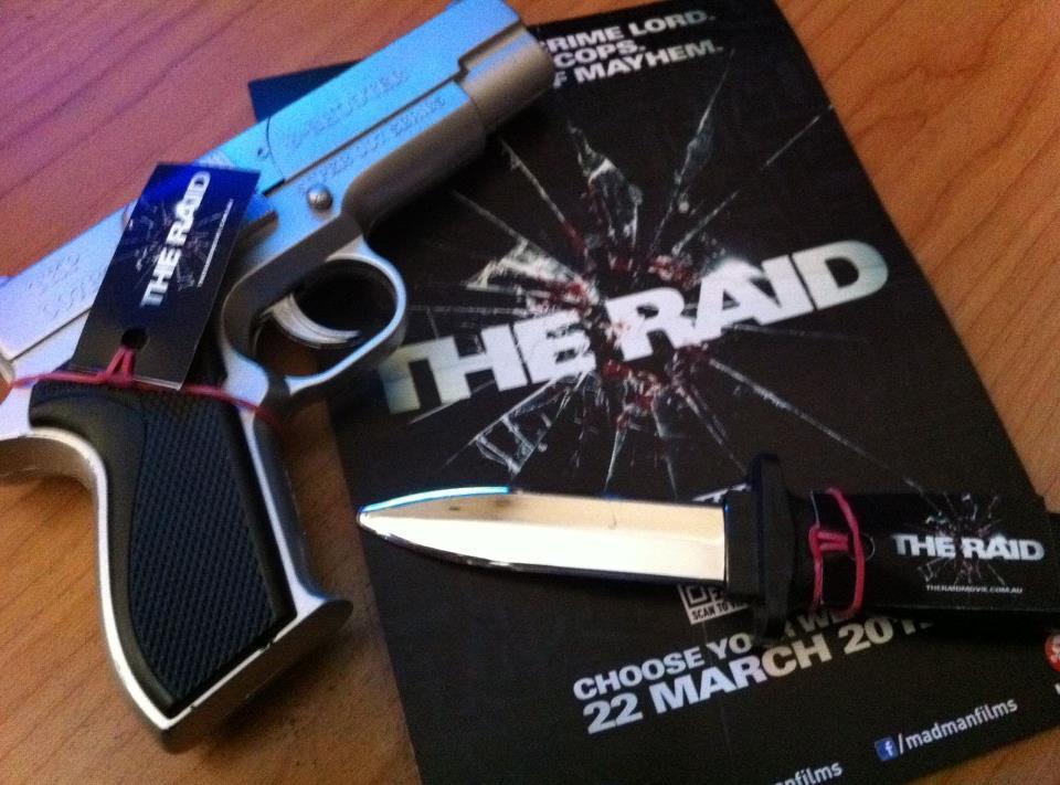 the raid press kit