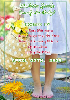 Join Our Garden Party Starting April 27th
