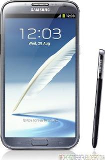 Harga Samsung Galaxy Note 2 / II Spesifikasi Hp 2012
