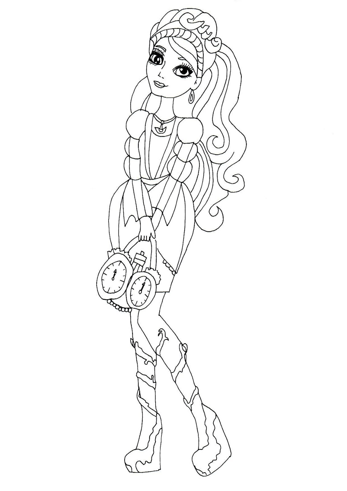 Free Cerise Coloring Pages