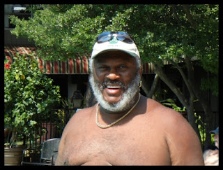 naked black mature - fat naked black men