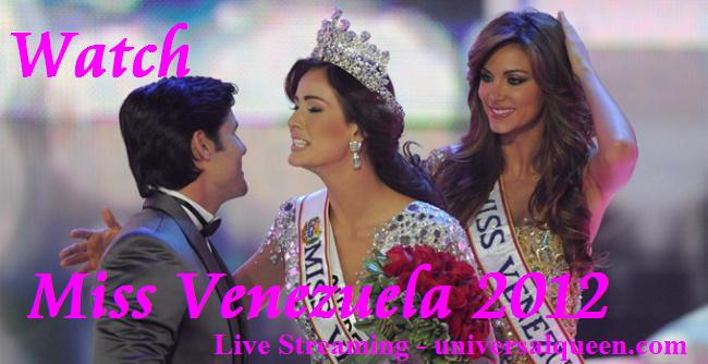 Watch Miss Venezuela 2012 Live Streaming Online