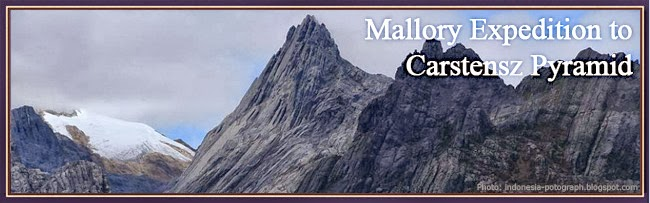 Mallory Expedition to Carstensz Pyramid