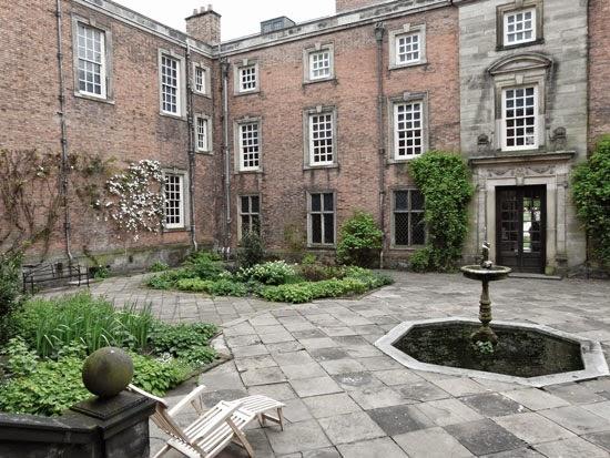 Dunham Massey courtyard.