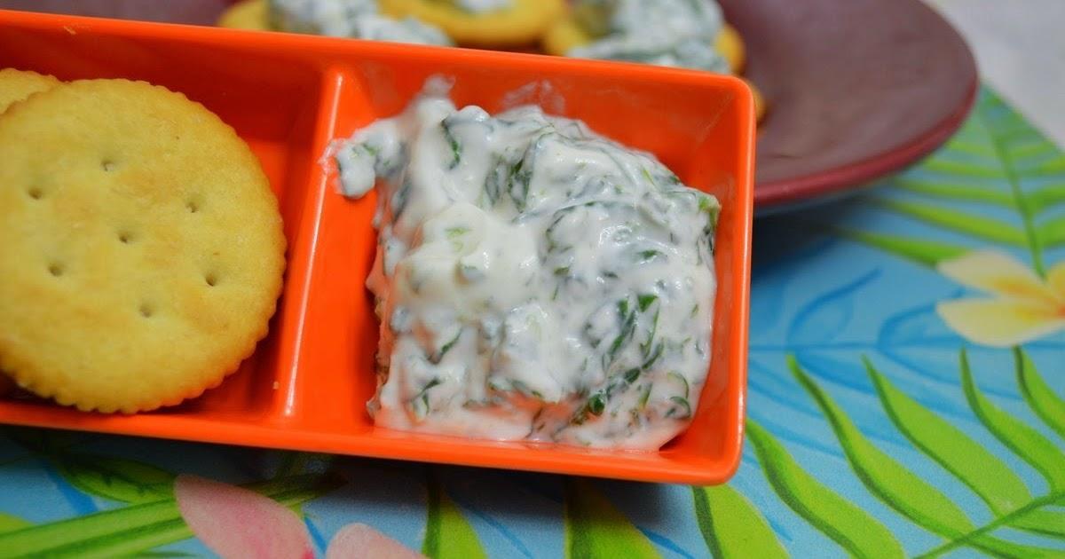 Yogurt-Spinach Dip ~ Tamalapaku