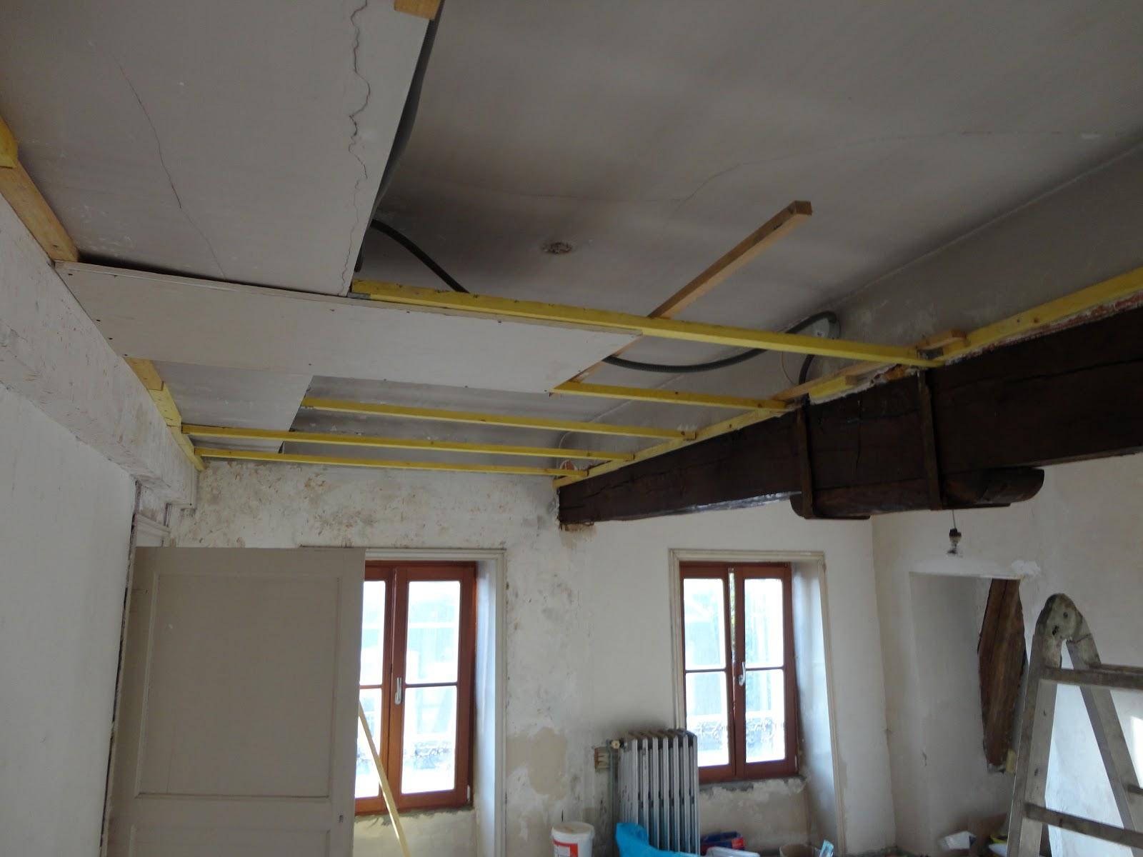 La couronne bloed zweet en veel gevloek - Plafond met balk ...