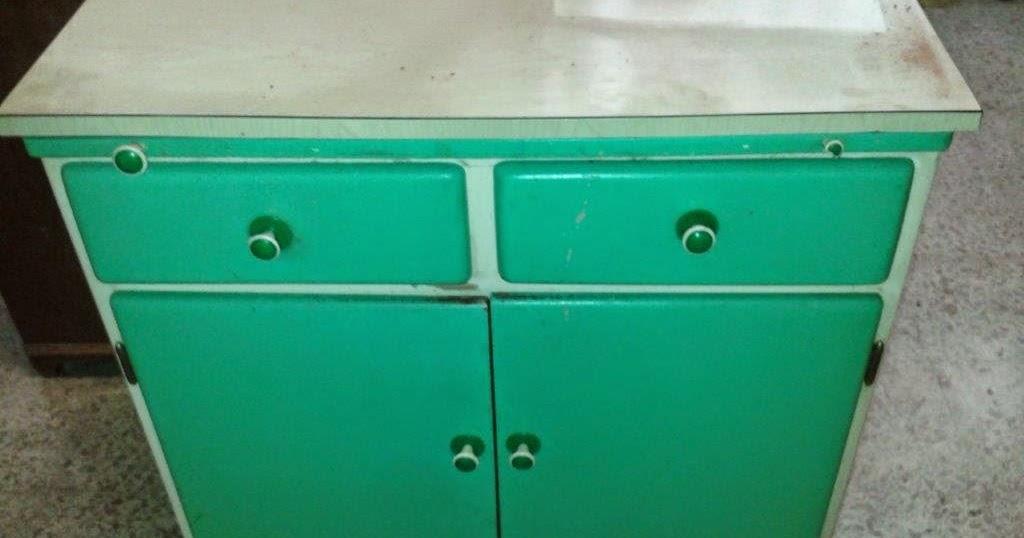 Taller de restauraci n lila mueble de cocina a os 60 for Muebles de cocina anos 80
